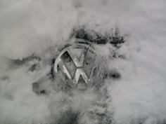 Volkswagen Snow Covered