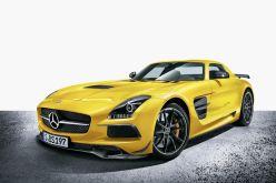 AMG SLS Mercedes Black
