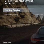 SELECT ALL DRIVE SETTINGS